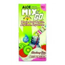 """АЛОЕ """"MIXn'GO"""" НА ПРАХ ЗА ПИЕНЕ (ЯГОДА И КИВИ) 16 САШЕТА X 7 G"""